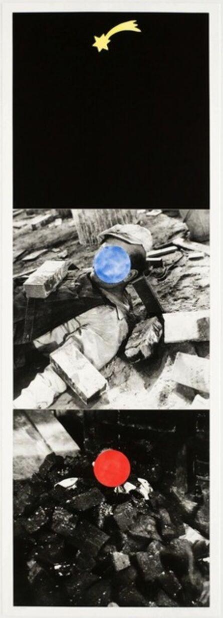 John Baldessari, 'Falling Star', 1989-1990
