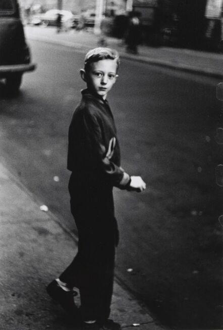 Diane Arbus, 'Boy stepping off the curb, N.Y.C. ', 1957-1958