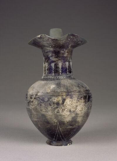 'Bucchero Trefoil Oinochoe',  about 625 -600 B.C.
