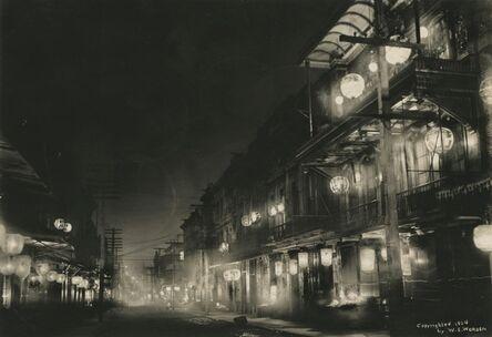 Willard Worden, 'Midnight in Chinatown', 1903