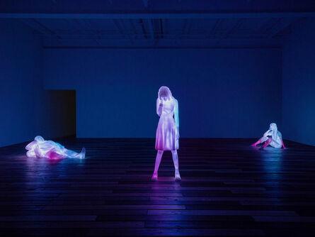 Doug Aitken, '3 Modern Figures (don't forget to breathe)', 2018
