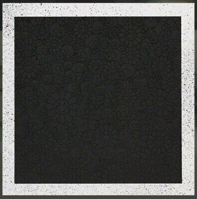 Takashi Murakami, 'Takashi Murakami for BLM: Black Skulls and Flowers Square', 2020