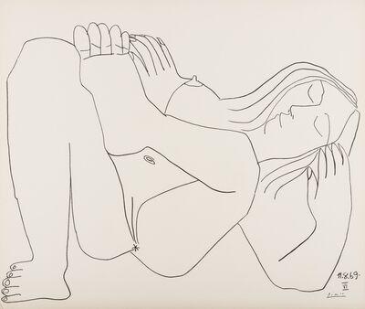 Pablo Picasso, 'Femme Nue, nos. 11.8.69, nos. I & VI', 1969