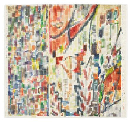 Franklin Evans, 'paintingassupermodelaswatercolor', 2019