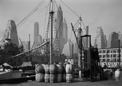 Todd Webb, 'Fulton Fish Market Wharf, New York', 1946