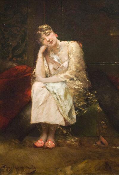 Jean-Joseph Benjamin-Constant, 'The Empress Theodora at the Coliseum', ca. 1889