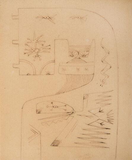 Wifredo Lam, 'Interlude Marseille', 1940