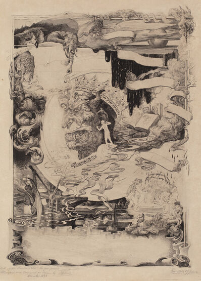 Francis Scott King, 'Printer's Devil', 1895