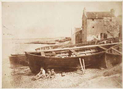 Hill & Adamson, 'Newhaven Beach', 1843–1847