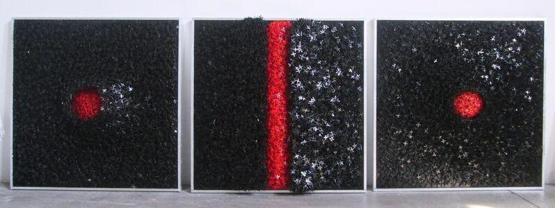 Giovanni Confortini, 'vulcan trittico', 2019