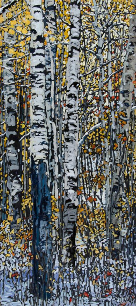 Deb Komitor, 'Winter Dancing on the Heels of Autumn', 2015