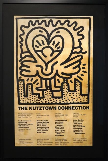 Keith Haring, 'The Kutztown Connection', ca. 1980s