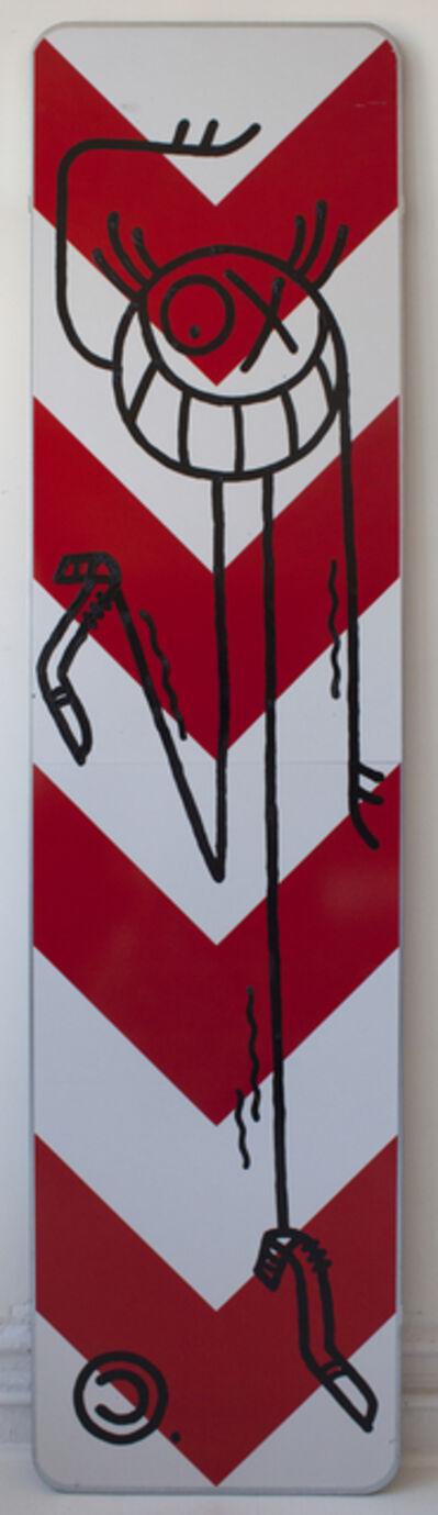 André Saraiva, 'Mr A Street Sign', 2018