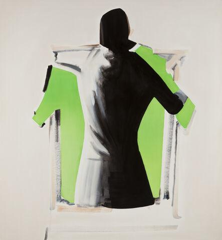 Eeva-Riitta Eerola, 'Woman Wearing a Green Shirt', 2018