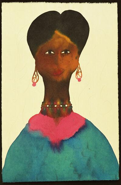 Chris Ofili, 'Untitled (Afromuse)', 1995-2005