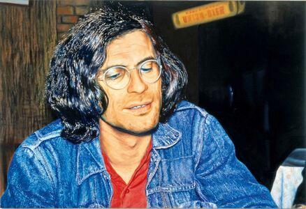 Franz Gertsch, 'Markus Raetz', 1970