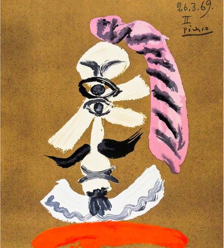 Pablo Picasso, 'Portraits Imaginaires, 26.3.69 II', 1969
