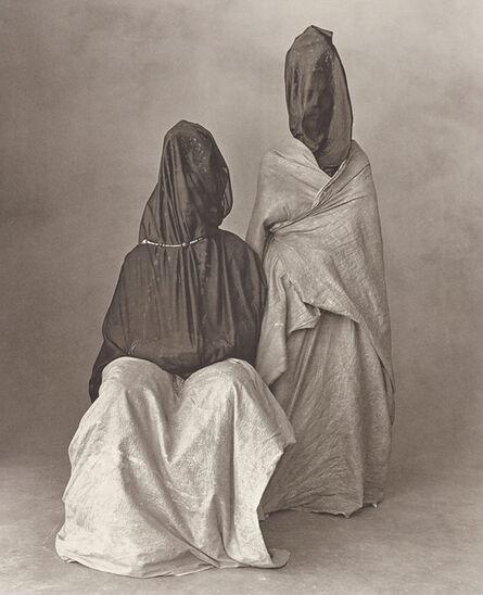 Irving Penn, 'Two Guedras, Morocco', 1971