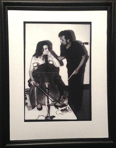 Paul Garrin, 'Frank Pileggi & Charlotte Moormon, Whitney Museum', 1982