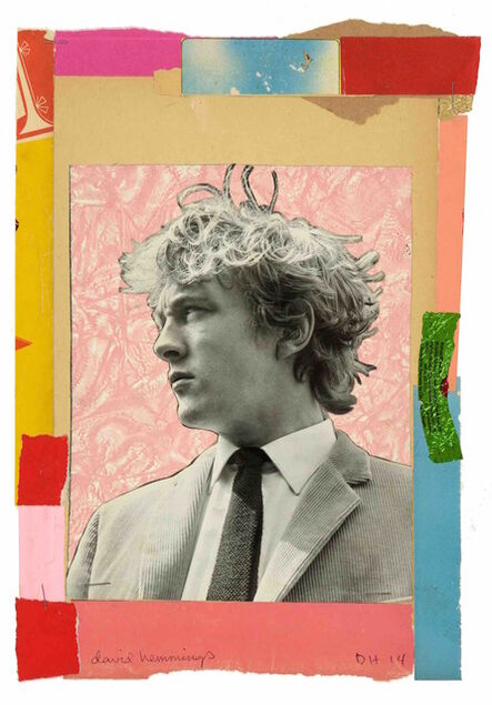 Duncan Hannah, 'David Hemmings', 2014