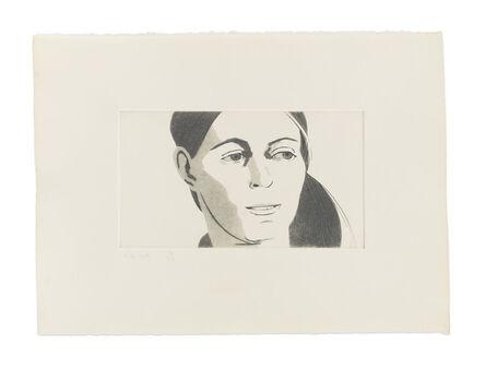 Alex Katz, 'June Ekman's Class: Roxanne', 1972