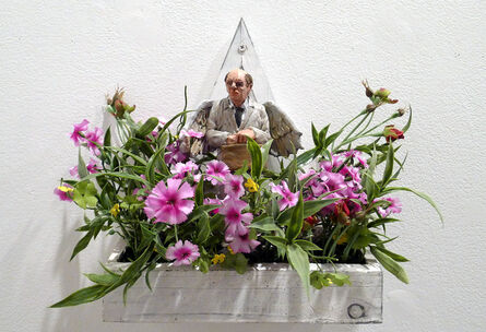 Isaac Cordal, 'Jeff Koons Angel', 2013