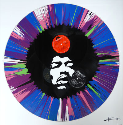 Keith Haynes, 'Jimi in a Spin', 2016