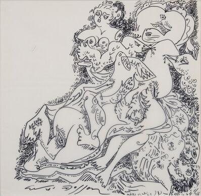 André Masson, 'Jeux d'Oiseaux', ca. 1965