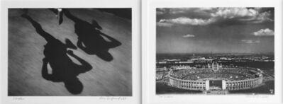 Leni Riefenstahl, 'Diptych: Ihre Schatten and Dar Stadion Silver Gelatin Print', 1936