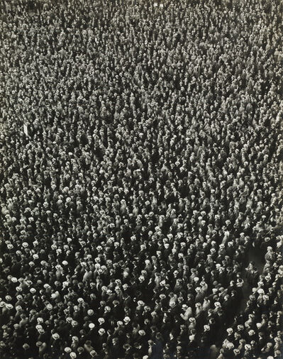 Arthur Siegel, 'Right of Assembly, 'Hats On'', 1939