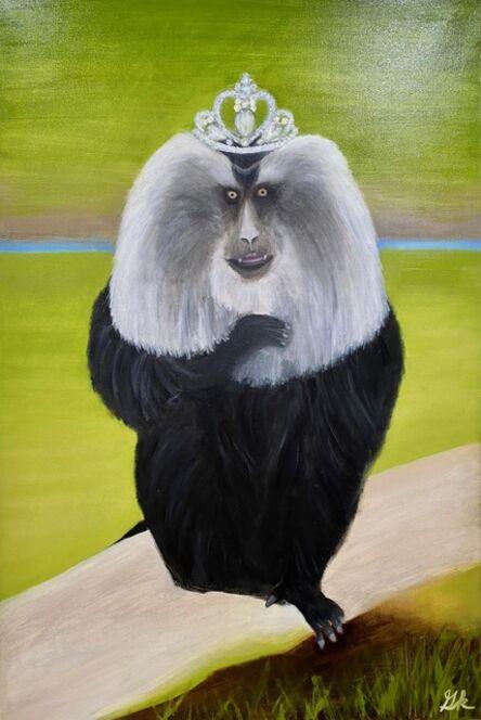 Gemma Kahng, 'Princess Macaque with Diamond Tiara', 2021