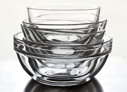 Diane Rudnick Mann, 'Stacked Glass Bowls', 2015