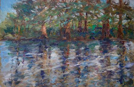 Gordon Fowler, 'Frio River Reflections '