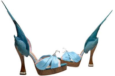 Caroline Groves, ''Parakeet' shoes', 2014