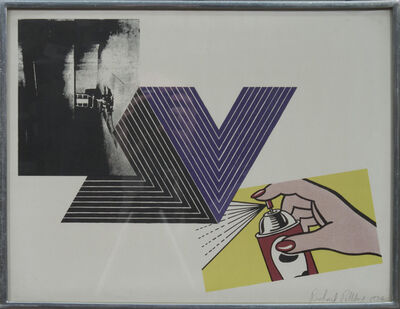 Richard Pettibone, 'Warhol, Stella, Lichtenstein Combination', 1970