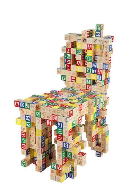 Benjamin Rollins Caldwell, 'ABC123 Chair', 2011