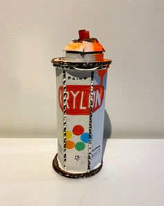 Bill Barminski, 'Krylon - Orange Drips', 2020