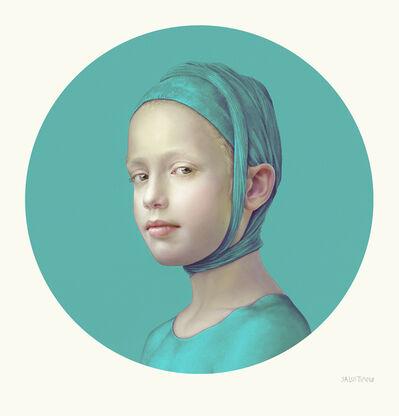 Salustiano, 'June (Turquoise I)', 2019