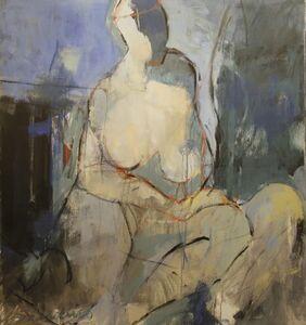 Tony Saladino, 'Seated Madonna', 2015