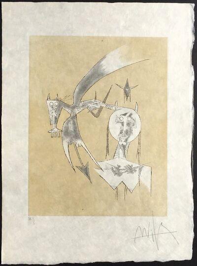 Wifredo Lam, 'De Sceve a Diane', 1975
