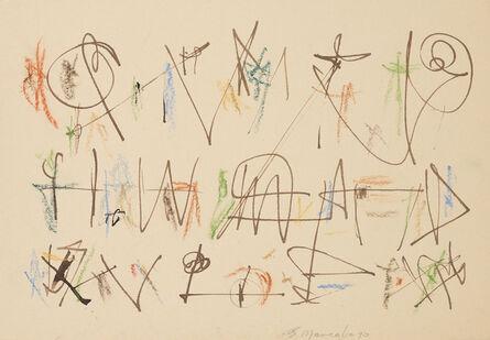 Ernest Mancoba, 'Untitled 18 ', 1990
