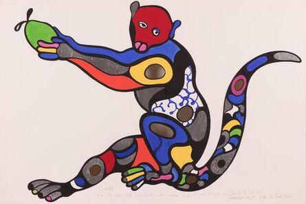 Niki de Saint Phalle, ' Monkey with Green Apple', 1995