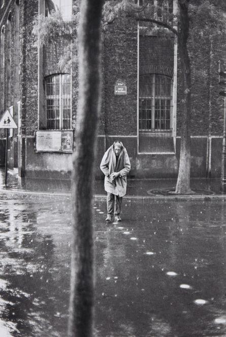 Henri Cartier-Bresson, 'Alberto Giacometti, rue d'Alésia, Paris', 1961