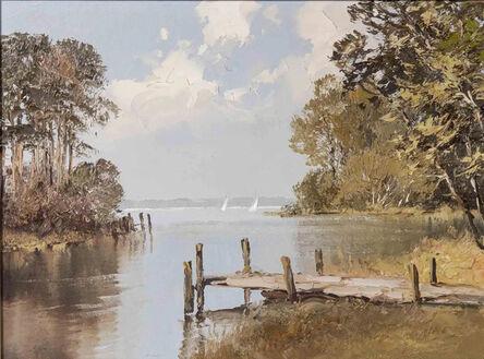 Erich Paulsen, 'Lakescape ', Late 18th Century