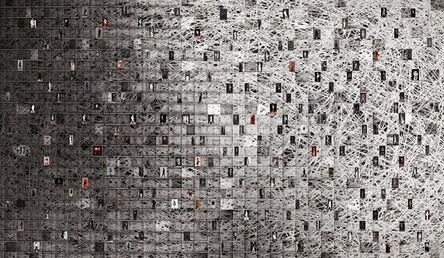 Young Sam Kim, 'The Network of City', 2017
