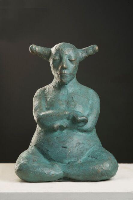 Giuseppe Palumbo, 'Little Zen (Turquoise Patina)'