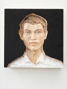 Stephan Balkenhol, 'Relief Man', 2019