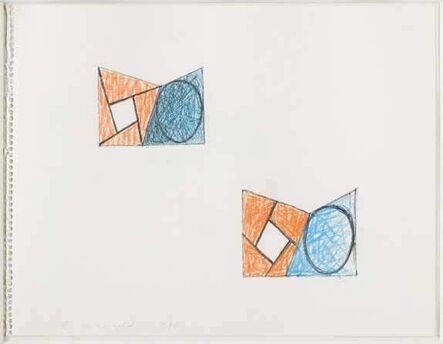 Robert Mangold (b. 1937), 'Sketch', 1988