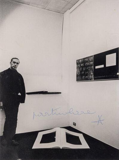 Vincenzo Agnetti, 'Particolare - Intervento di Agnetti su foto di Fabio Donato', 1978