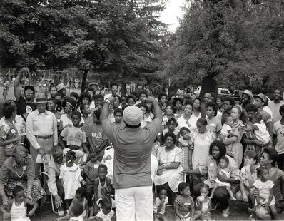 Carrie Mae Weems, 'Family Reunion (from Family Pictures and Stories)', 1978-1984